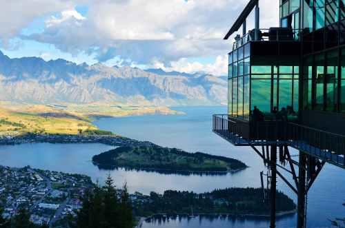 landscape nature mountain lake