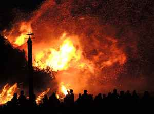 ash blaze burn burning