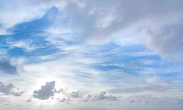 atmosphere blue sky clouds cloudscape