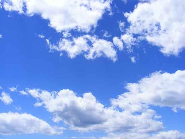nature sky clouds blue