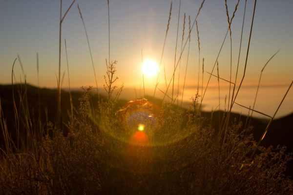 lens flare sunrise sunset